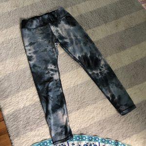 RBX black tie dye leggings